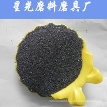 Carburo de silicio negro abrasivo para pulido de joyas