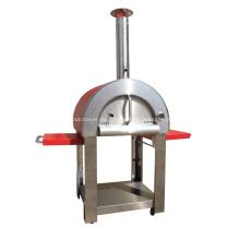 Horno de alta calidad para exteriores de pizza de madera