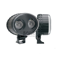 10W 10-80V 6000K Super Bright Waterproof 4x4 Leds Safety LED Work Light