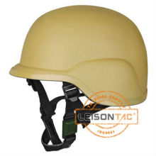 Ballistic Helmet Kevlar or Tac-Tex NIJ IIIA interface with ballistic vests, goggles, communications headsets