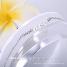 Pulseira para mulheres charme prata esterlina 925