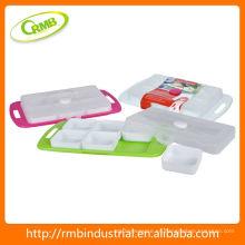 Utensilios de cocina de plástico Contenedor de almacenamiento de alimentos