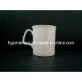 Tasse de 10 oz Fine Bone China, Ruby Bone China Mug