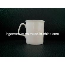 Taza fina de China del hueso de 10oz, taza de rubíes del hueso de China