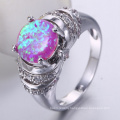 jewelry accessories market ring with blue stone
