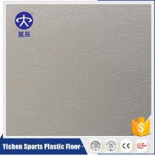 Suelo de lámina comercial homogéneo de PVC