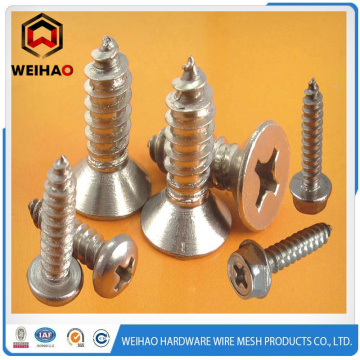 Best Quality for Self Tapping Metal Screws Pan Head Pozi Drive Type-B Thread Self Tapping Screw supply to Cocos (Keeling) Islands Factory