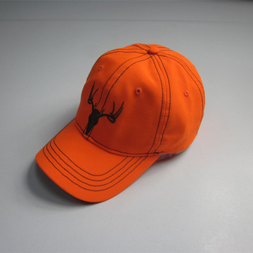 New Style Fluorescent Orange Peak Cap