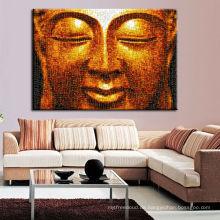 Großhandelsrahmen-Buddha-Malerei auf Segeltuch für Wand-Dekor