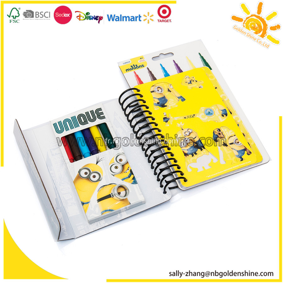 The Minions Take Along Sketch book