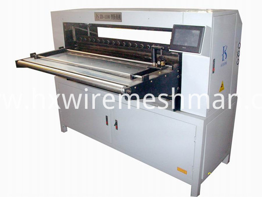 pleated paper machine