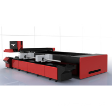 CNC Fiber Laser Cutter for Steel Plate and Pipe