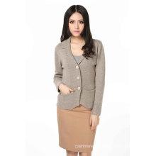 Moda feminina cardigã de cashmere (3089-2013028)