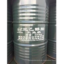 Reinheitsgrad Triethanolamin CAS der höchsten Qualität 99%: 102-71-6