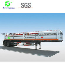 22.10m3 Capacity 10 Tubes CNG Jumbo Tube Semi Trailer