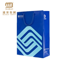 Custom Logo Design Printing Advertising Shopping Carry Paper Bag For Mobile Phone Packaging