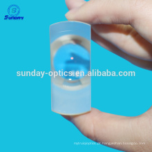 Lentes de menisco de vidro ZF2 AR revestidas