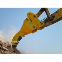 3 pont ripper, excavadora destripador, suelo destripador para Kobelco excavadora