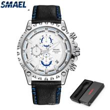 SMAEL Nuevos relojes para hombre Reloj deportivo de cuarzo militar
