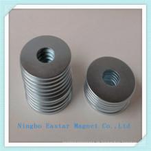 N45 Neodym Ringmagnet mit Zink-Beschichtung