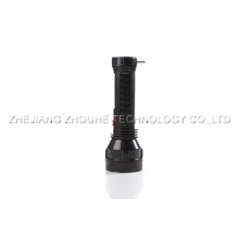 1W lamp led rechargeable flashlight plastic torch