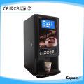 8 bebidas misturando sabores máquina de café com displayer LED e aprovação CE - Sc-7903d