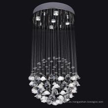lámpara de techo de aluminio iluminación interior decorativa