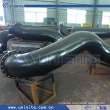 steel water jet pipe for trailing suction hopper dredger (USC-3-007)