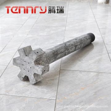 Anti-Oxidation Graphite Rotor For Aluminum Degrassing