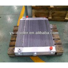 Refrigerador de aceite y aire para compresor de aire