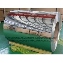 1050, 3003 Poliéster pulido espiral bobina / tira de decoración, techo, luz
