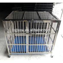 Forte caixa de gaiola de cão de aço inoxidável por atacado (entrega rápida)