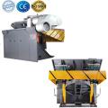 Energy saving metal melting steel shell induction furnace