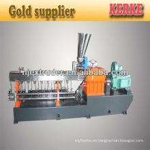 Caco3 + PP relleno masterbatch extrusión máquina precio