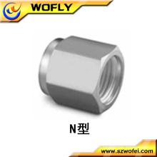 Fournisseur de raccords de tubes hydrauliques industriels AFK Nut 4mm