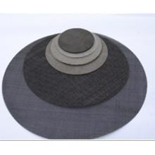 Fabricant professionnel chinois Disque de filtre en tissu de fil noir (tye057)