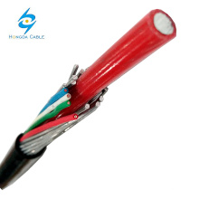 Cable concéntrico de aluminio aislado XLPE de 16 mm