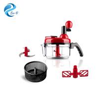Offre spéciale cadeaux client multi-fonctionnel robot culinaire à main hachoir à légumes cuisine Mini mélangeur broyeur