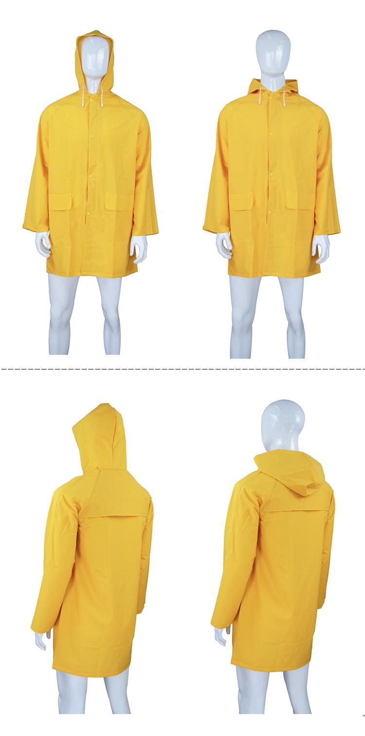 PVC Plastic Rainwear