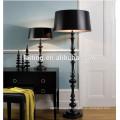 Black classic interior decoration floor lamps