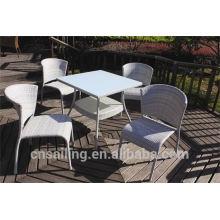 Luxury Durable Easy Cleaning mesas de café e cadeiras