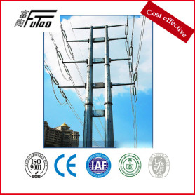 110KV and 35KV Two-Circuit Angle Power Pole