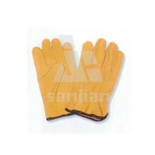 Grain Leather Grad a / Ab / Bc luva de segurança de trabalho