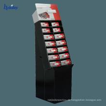 Einzelhandelsgeschäftpappzelle-Handykastenausstellungsgestell, bewegliche Zubehöranzeige, Handyzubehör-Ausstellungsstand