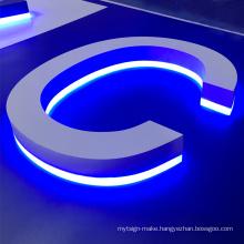 OEM 3d led backlit lighting letter custom sign letter waterproof led sign light design letters illuminated