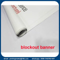 Bannière de Blockout PVC double face 18 oz