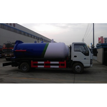 Right Hand Drive Sewage Cleaner Dongfeng Vacuum Tank Trucks