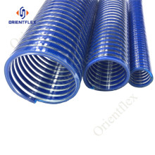 25mm blue PVC flex delivery hose pipe