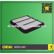 Donaldson air filter air air compresseurs 96591485