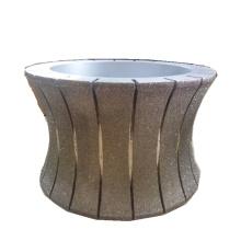 150mm galvanisierte 2 in 1marble Schleifscheibe Diamant Stein Polierscheibe